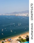 panoramic view of acapulco bay | Shutterstock . vector #1046991670