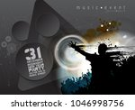 dancing people  music event... | Shutterstock .eps vector #1046998756