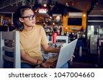 asian women are using a...   Shutterstock . vector #1047004660