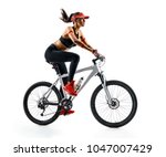active life. sporty woman...   Shutterstock . vector #1047007429
