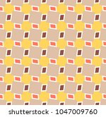 abstract geometric seamless... | Shutterstock .eps vector #1047009760