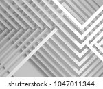 abstract white digital graphic... | Shutterstock . vector #1047011344