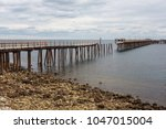 the old jetty at rapid bay...   Shutterstock . vector #1047015004