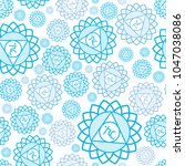 seamless repeat pattern with... | Shutterstock .eps vector #1047038086