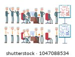 coworking  startup  joyful...   Shutterstock .eps vector #1047088534