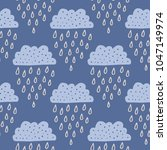 the seamless pattern with... | Shutterstock .eps vector #1047149974