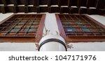 old wooden window | Shutterstock . vector #1047171976