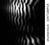 abstract grunge grid polka dot... | Shutterstock .eps vector #1047188914