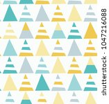 seamless repeating pattern with ... | Shutterstock .eps vector #1047216088