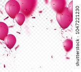 celebration background with... | Shutterstock .eps vector #1047221230
