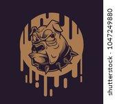 swag bull illustration   Shutterstock .eps vector #1047249880