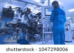 abstract  blurry  bokeh...   Shutterstock . vector #1047298006
