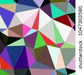 abstract background poligonal... | Shutterstock . vector #1047303580