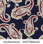 traditional oriental seamless... | Shutterstock .eps vector #1047306610