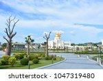 bandar seri begawan  brunei  ... | Shutterstock . vector #1047319480