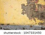 Yellow  Grunge  Wall Backgroun...