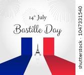 bastille day celebration on... | Shutterstock .eps vector #1047331540