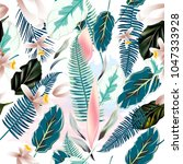 beautiful vector pattern with... | Shutterstock .eps vector #1047333928