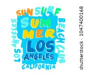 tee shirt design with... | Shutterstock .eps vector #1047400168