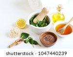 natural ingredients for... | Shutterstock . vector #1047440239
