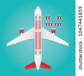 modern vector illustration of... | Shutterstock .eps vector #1047441859