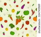 vegetables background | Shutterstock .eps vector #104745989