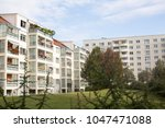 multiple dwelling at germany | Shutterstock . vector #1047471088