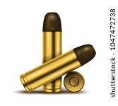 realistic display of bullets.... | Shutterstock .eps vector #1047472738