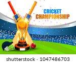 vector illustration of sports... | Shutterstock .eps vector #1047486703