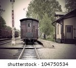 Vintage Railway Station With...