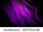 dark purple vector pattern with ... | Shutterstock .eps vector #1047516148