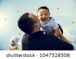 hapiness and beatiful family | Shutterstock . vector #1047528508