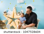 hapiness and beatiful family | Shutterstock . vector #1047528604