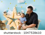 hapiness and beatiful family | Shutterstock . vector #1047528610