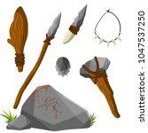 cartoon flat illustration   man'... | Shutterstock .eps vector #1047537250