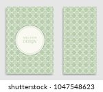 greeting card or invitation... | Shutterstock .eps vector #1047548623