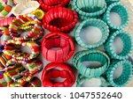 mexican handcrafts  san... | Shutterstock . vector #1047552640