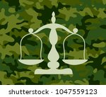 justice and war crimes.... | Shutterstock .eps vector #1047559123