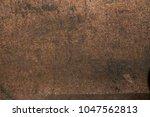 rust texture old vintage warn... | Shutterstock . vector #1047562813