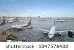 russia  moscow   september 24 ... | Shutterstock . vector #1047576433