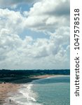 Small photo of View from Punta Ballena in Uruguay at its adjacent coastline.