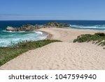 beautiful scenery of seascape...   Shutterstock . vector #1047594940