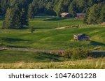 summer in alpe di siusi seiser... | Shutterstock . vector #1047601228