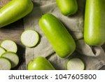 Raw Green Organic Opo Squash...