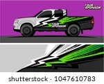 truck graphic vector kit....   Shutterstock .eps vector #1047610783