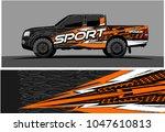 truck graphic vector kit.... | Shutterstock .eps vector #1047610813
