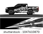 truck graphic vector kit.... | Shutterstock .eps vector #1047610870