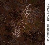 pattern. vector. brown  black... | Shutterstock .eps vector #1047629680