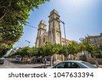 Small photo of Ain Temouchent - June 02, 2017: Historic center of Ain Temouchent, Algeria