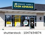 Small photo of Kokomo - Circa March 2018: Advance America consumer location. Advance America is a payday loan company II